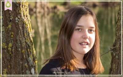 Photographie adolescente en extérieur
