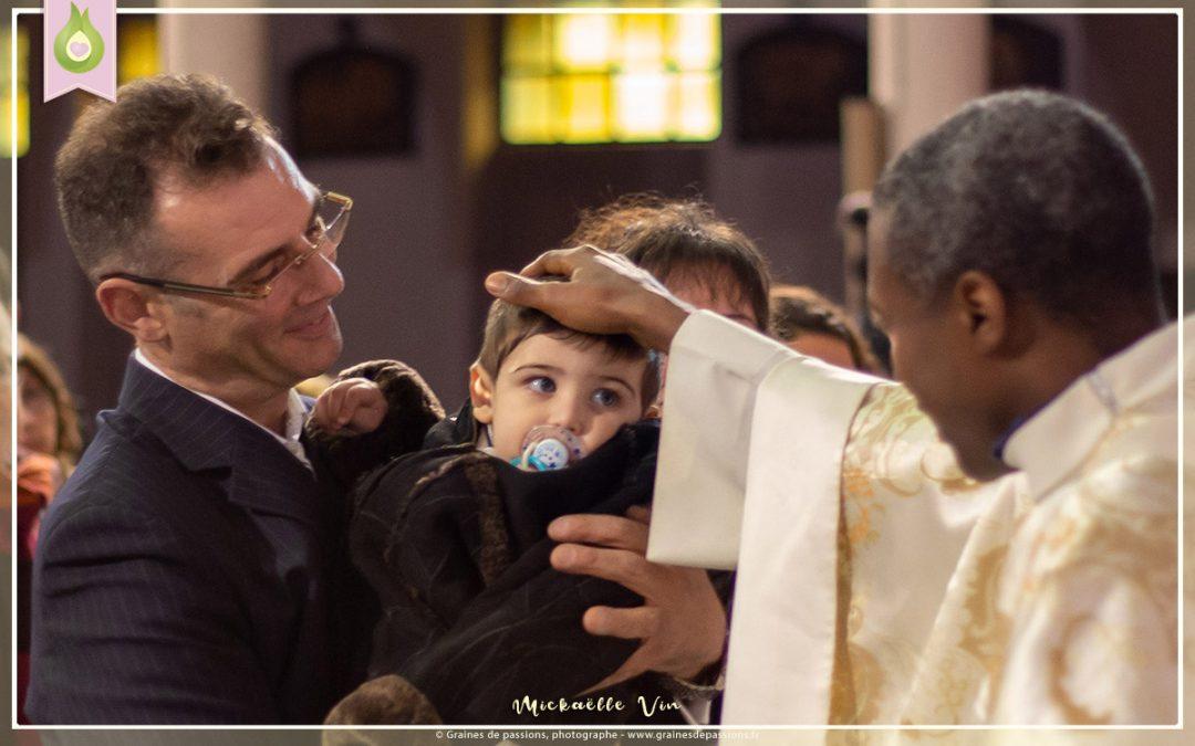 Séance photo de Baptême garçon